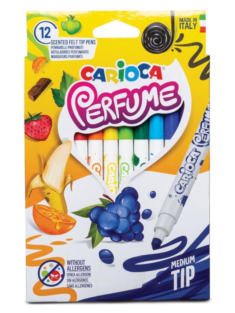 Фломастеры Carioca Perfume Xplosion 12 цветов 42672