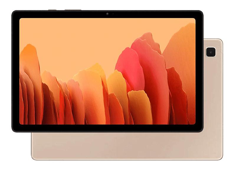 Планшет Samsung Galaxy Tab A7 10.4 SM-T500N - 64Gb Gold SM-T500NZDESER (Qualcomm Snapdragon 662 2.0 GHz/3072Mb/64Gb/Wi-Fi/Bluetooth/GPS/Cam/10.4/2000x1200/Android)