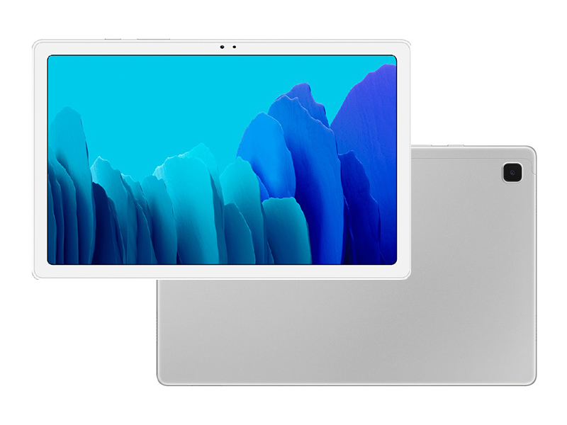 Планшет Samsung Galaxy Tab A7 10.4 SM-T500N - 64Gb Silver SM-T500NZSESER (Qualcomm Snapdragon 662 2.0 GHz/3072Mb/64Gb/Wi-Fi/Bluetooth/GPS/Cam/10.4/2000x1200/Android)