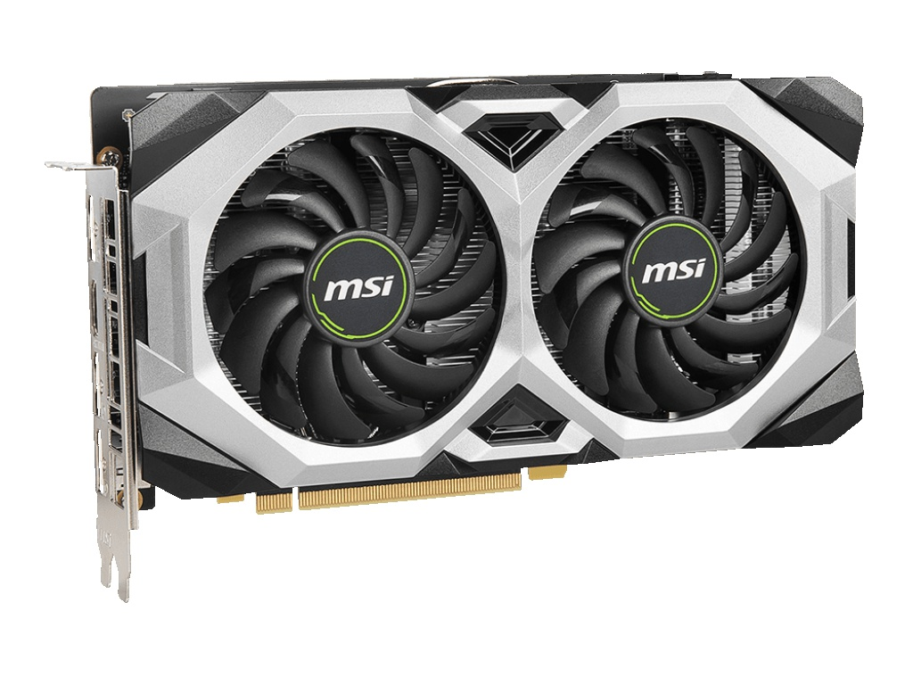 Фото - Видеокарта MSI GeForce GTX 1660 Super Ventus OC 1530Mhz PCI-E 3.0 6144Mb 14000Mhz 192 bit HDMI 3xDP видеокарта gigabyte radeon rx 5700 xt 1650mhz pci e 4 0 8192mb 14000mhz 256 bit hdmi 3xdp gv r57xtgaming oc 8gd v2
