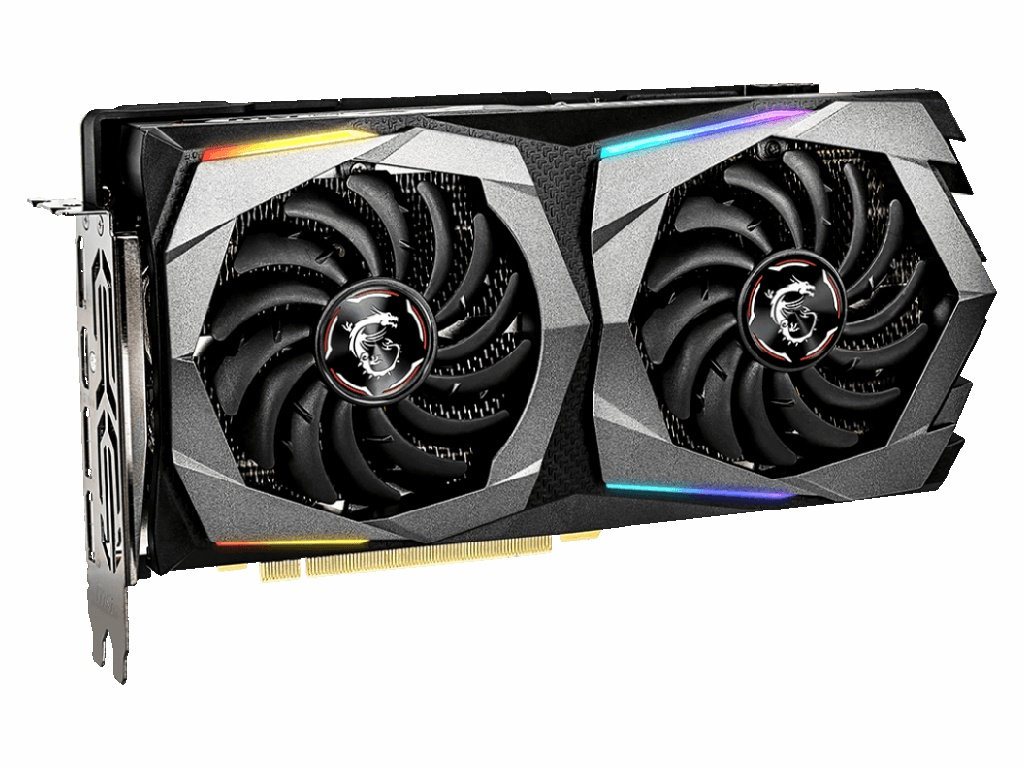 Видеокарта MSI GeForce GTX 1660 Super Gaming Z Plus 1530Mhz PCI-E 3.0 6144Mb 14000Mhz 192 bit HDMI 3xDP