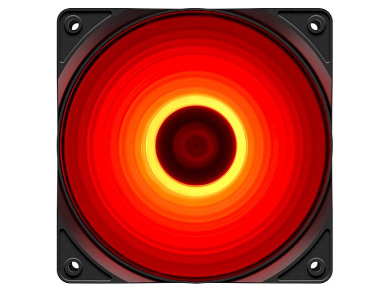 Вентилятор DeepCool RF 120R Red LED