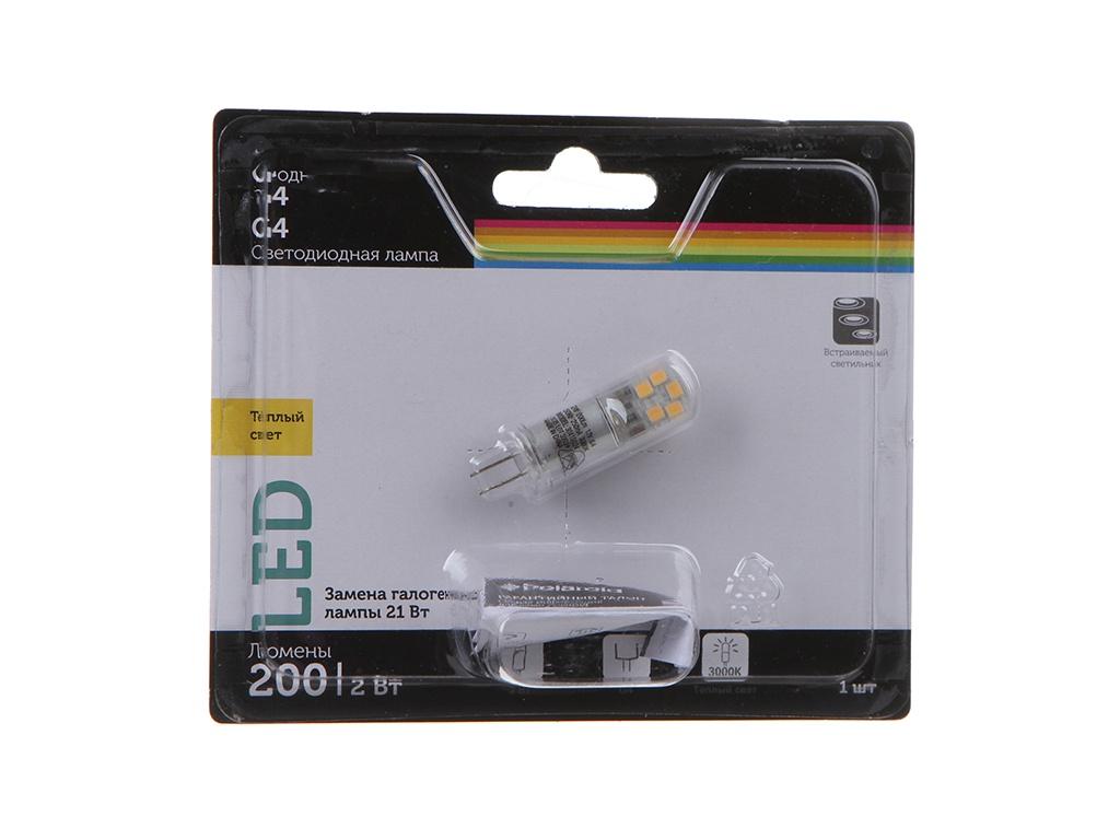 Лампочка Polaroid G 2W 12V 3000K G4 200Lm PL-G412V23