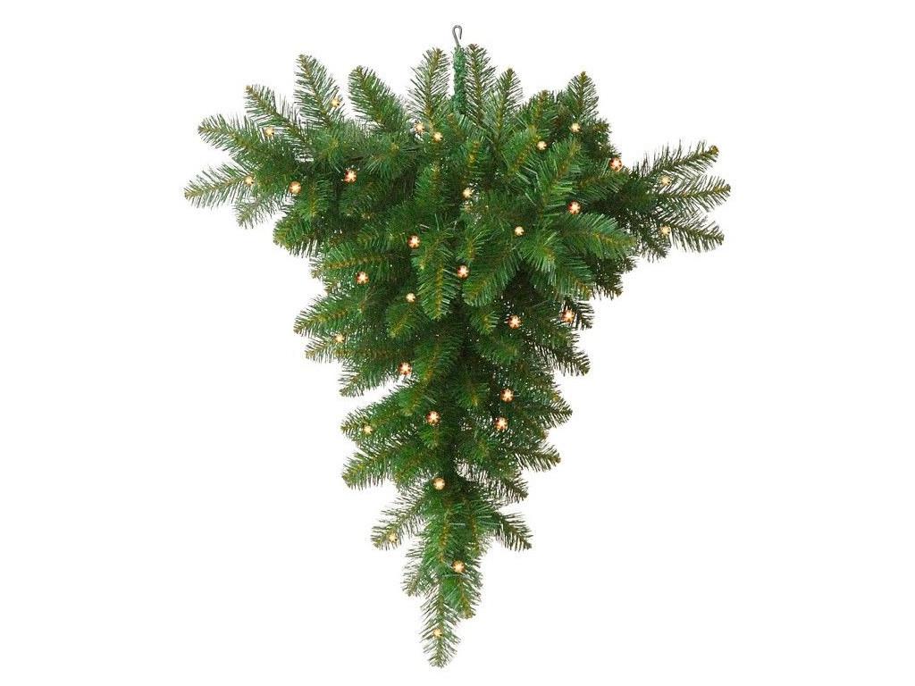 Подвесная ель A Perfect Christmas Ньюарк 70 LED-огней 1.2m Green 31NEW120LB