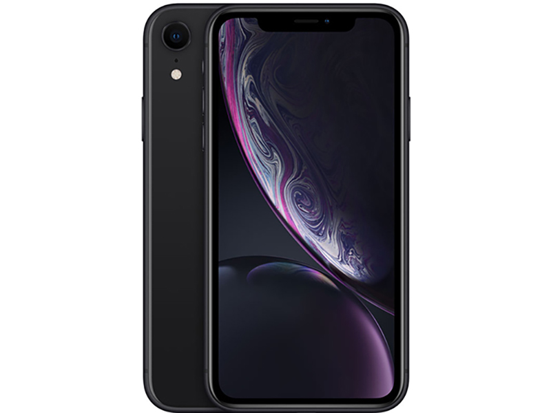 Сотовый телефон APPLE iPhone XR - 64Gb Black новая комплектация MH6M3RU/A Выгодный набор + серт. 200Р!!!