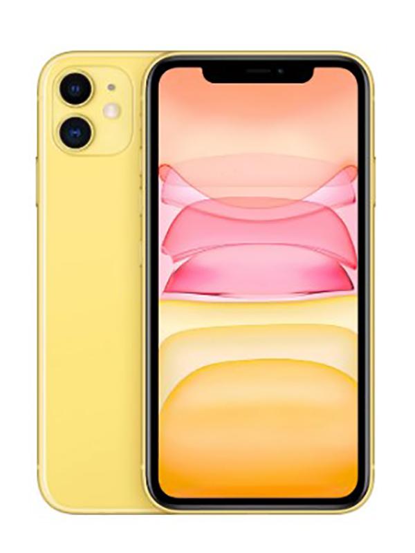 Сотовый телефон APPLE iPhone 11 - 128Gb Yellow MWM42RU/A Выгодный набор для Selfie + серт. 200Р!!!