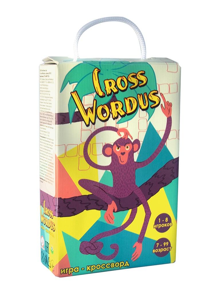 Настольная игра Strateg Cross Wordus 30812