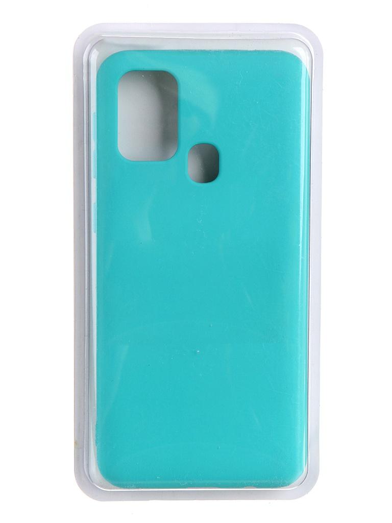 Чехол Innovation для Samsung Galaxy F41 Soft Inside Turquoise 19077
