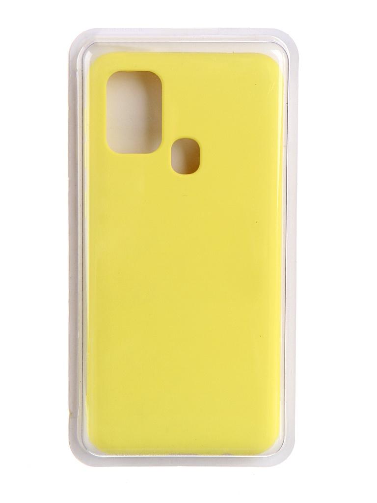 Чехол Innovation для Samsung Galaxy F41 Soft Inside Yellow 19076