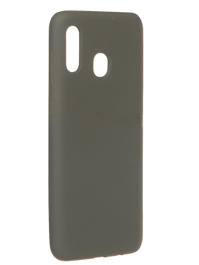 Чехол Innovation для Samsung Galaxy A20 / A30 Soft Inside Khaki 19163