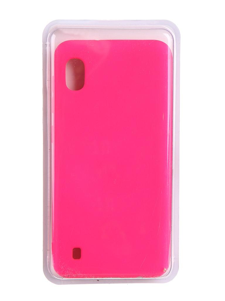 Чехол Innovation для Samsung Galaxy A10 Soft Inside Light Pink 19169