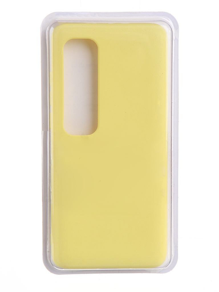 Чехол Innovation для Xiaomi Mi 10 Ultra Soft Inside Yellow 19177