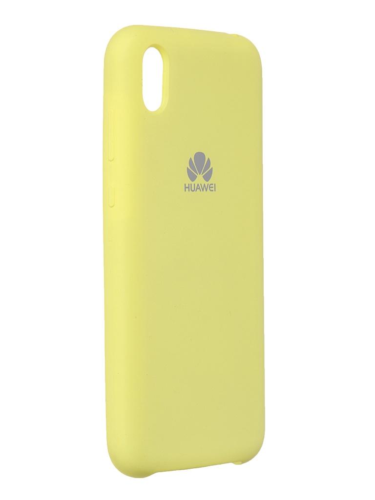 Чехол Innovation для Huawei Y5 2019 / Honor 8S Soft Inside Yellow 19054
