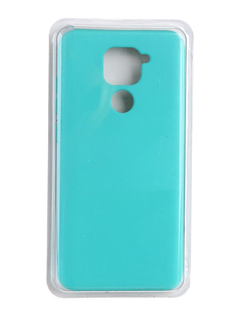 Чехол Innovation для Xiaomi Redmi Note 9 Soft Inside Turquoise 19187