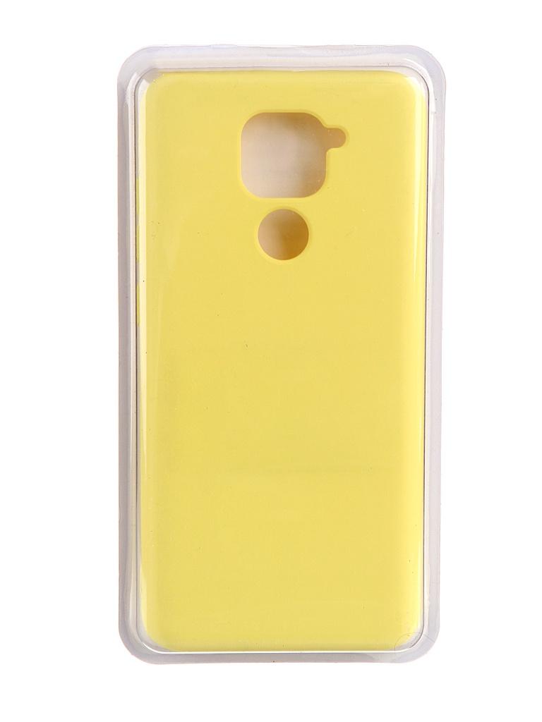 Чехол Innovation для Xiaomi Redmi Note 9 Soft Inside Yellow 19189