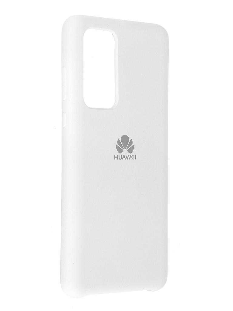 Чехол Innovation для Huawei P40 Soft Inside White 19037