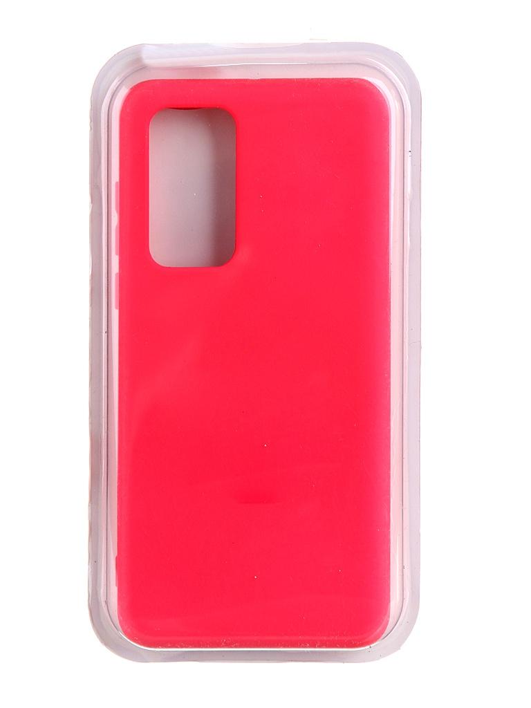 Чехол Innovation для Huawei P40 Soft Inside Light Pink 19035