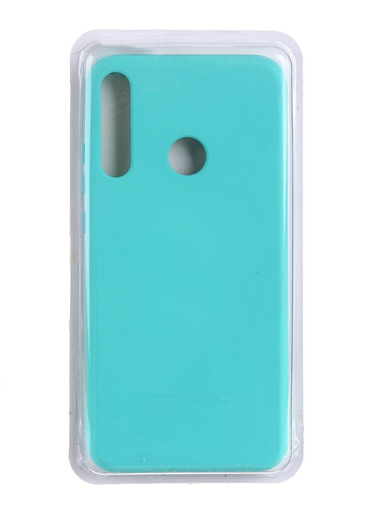 Чехол Innovation для Huawei P40 Lite E / Honor 9C Y6P Soft Inside Turquoise 19034