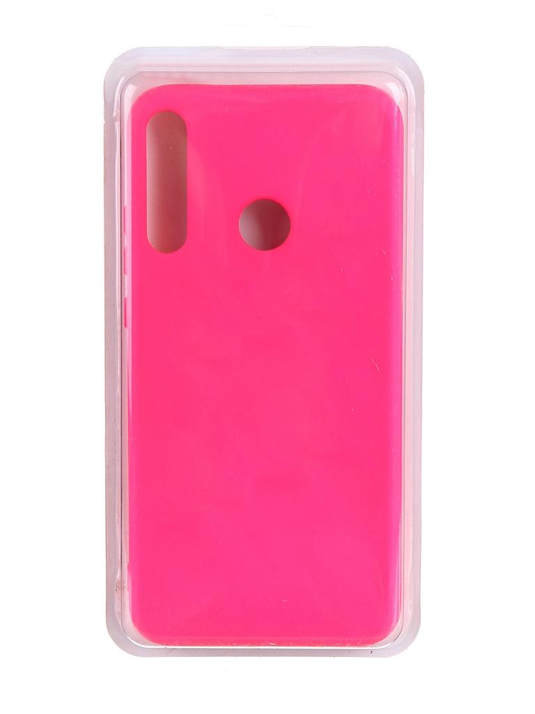 Чехол Innovation для Huawei P40 Lite E / Honor 9C Y6P Soft Inside Light Pink 19033
