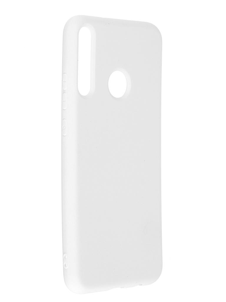 Чехол Innovation для Huawei P40 Lite E / Honor 9C Y6P Soft Inside White 19032