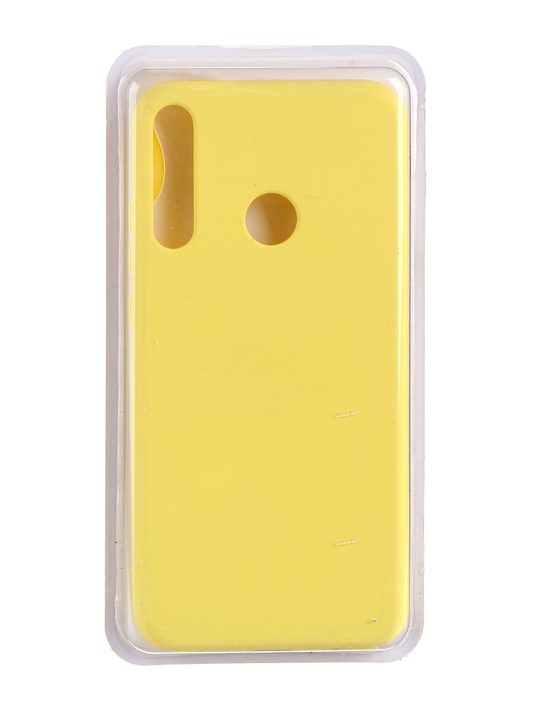 Чехол Innovation для Huawei P40 Lite E / Honor 9C Y6P Soft Inside Yellow 19031