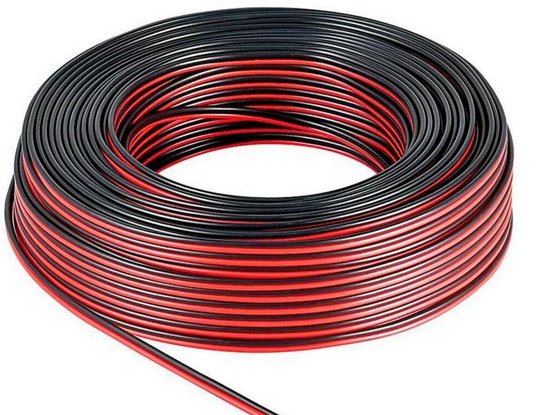 Акустический кабель Dynavox Zenit 2x1.5mm 50m Black-Red 100112