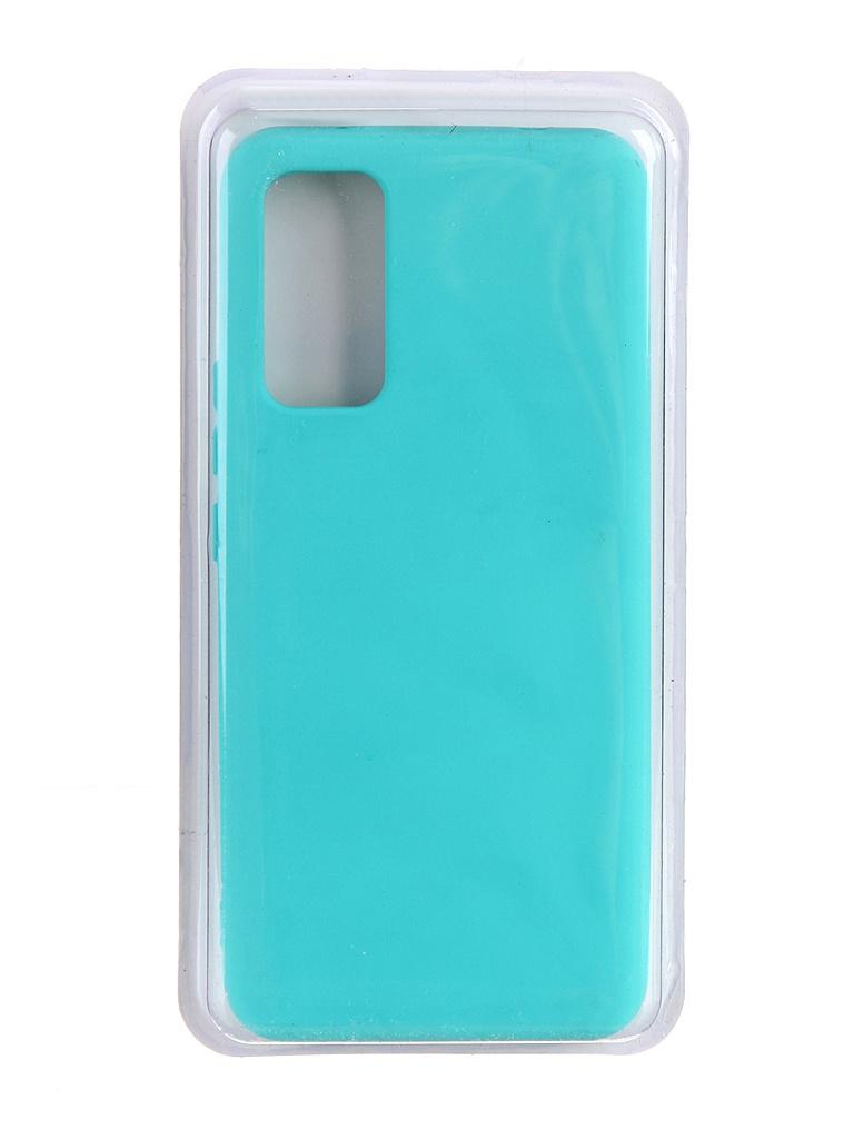 Чехол Innovation для Honor 30 Soft Inside Turquoise 19026
