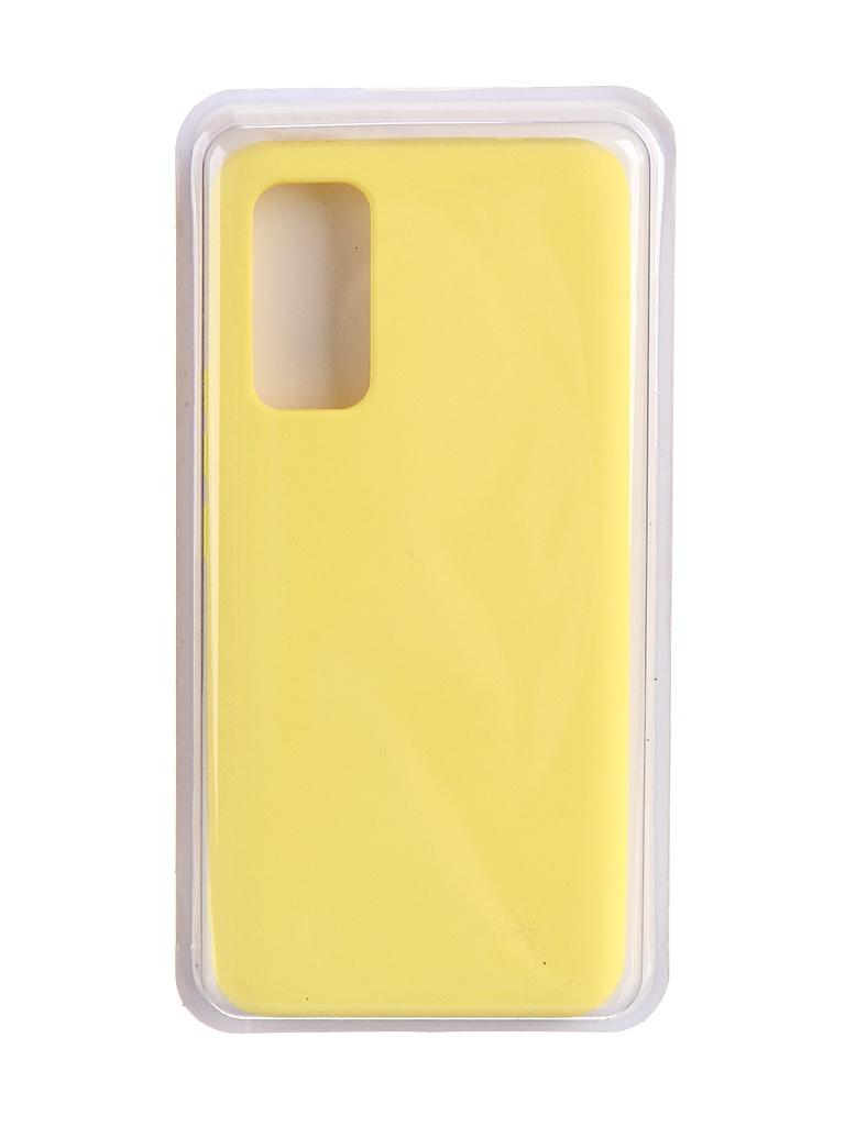 Чехол Innovation для Honor 30 Soft Inside Yellow 19025
