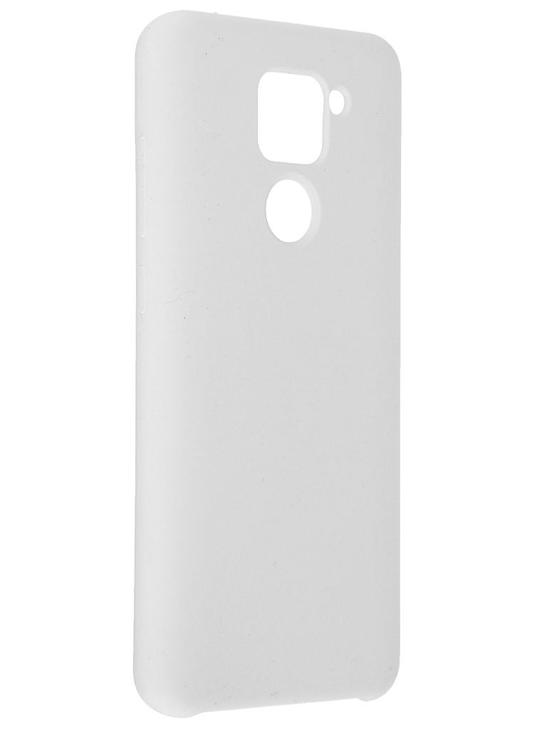 Чехол Innovation для Xiaomi Redmi Note 9 Soft Inside White 19190