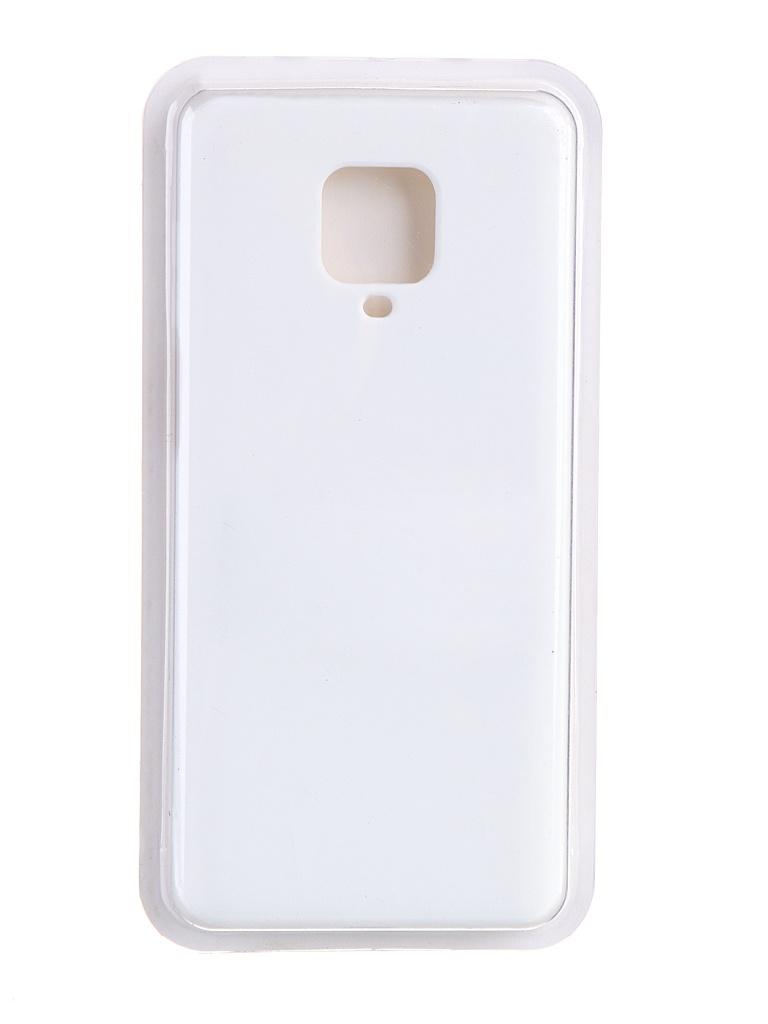 Чехол Innovation для Xiaomi Redmi Note 9 Pro / Max Soft Inside White 19191