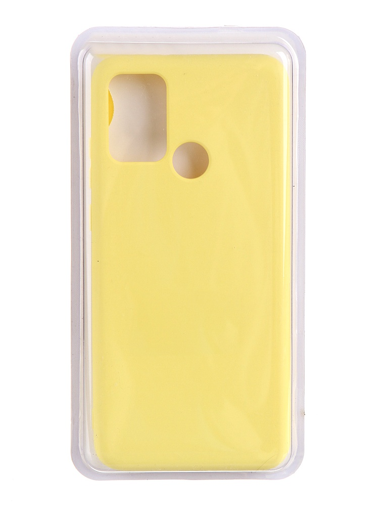 Чехол Innovation для Honor 9A Soft Inside Yellow 19022