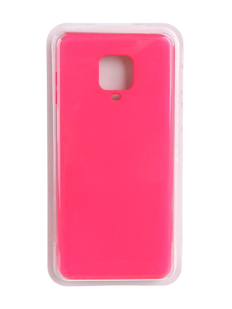 Чехол Innovation для Xiaomi Redmi Note 9 Pro / Max Soft Inside Light Pink 19193