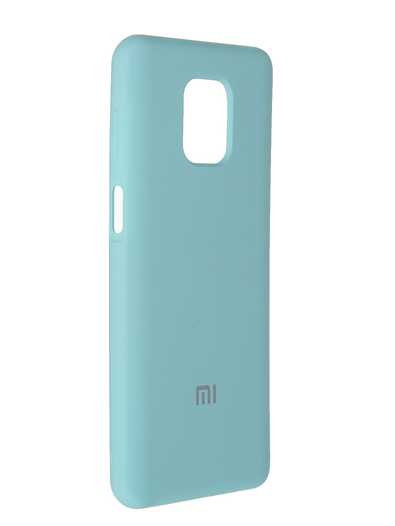 Чехол Innovation для Xiaomi Redmi Note 9 Pro / Max Soft Inside Turquoise 19195