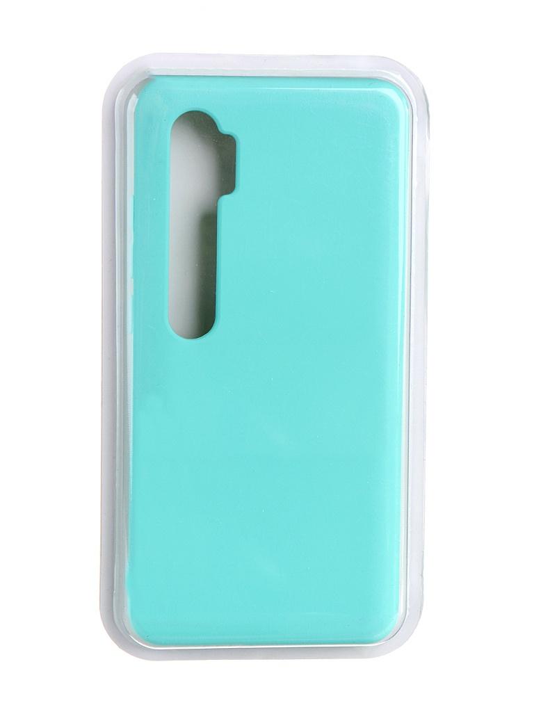 Чехол Innovation для Xiaomi Mi Note 10 Soft Inside Turquoise 19198 чехол innovation для xiaomi mi 9se silicone red 15398