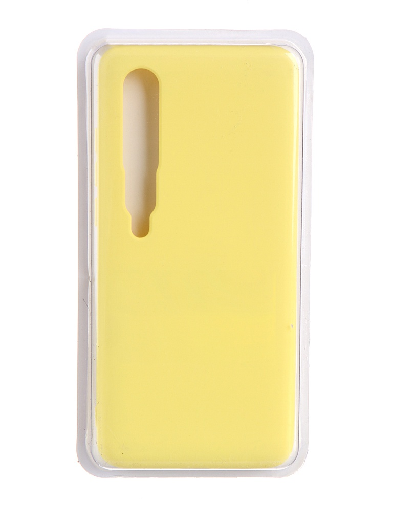 Чехол Innovation для Xiaomi Mi 10 / Pro Soft Inside Yellow 19208