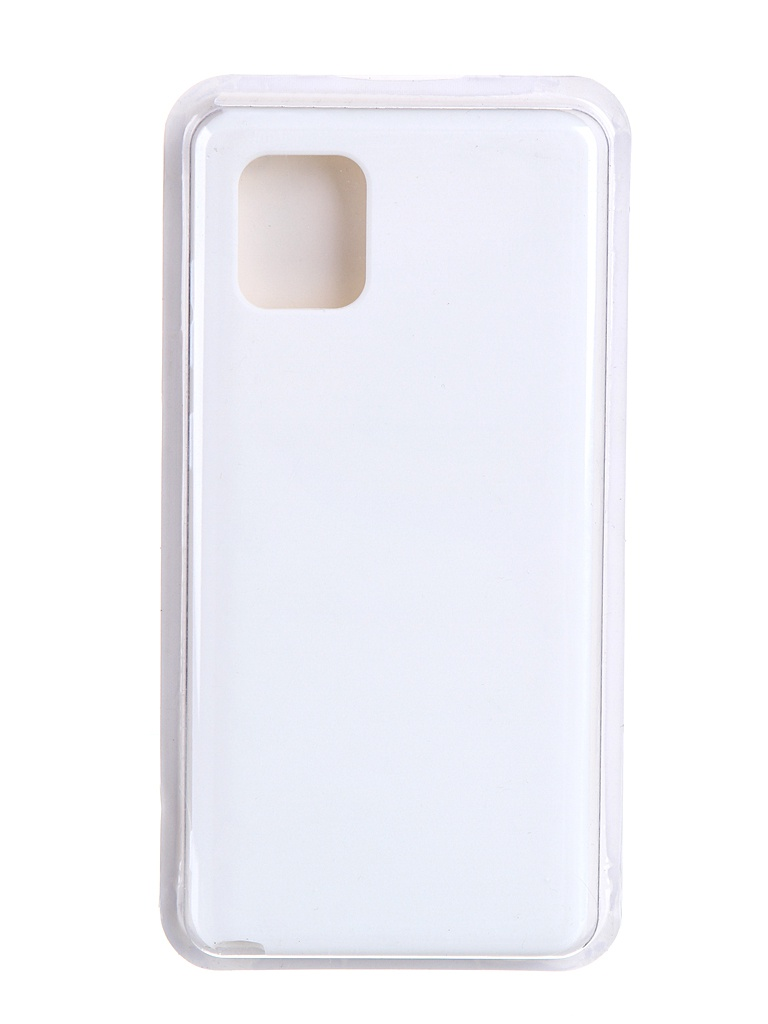 Чехол для Innovation Samsung Galaxy Note 10 Lite / A81 M60S Soft Inside White 19141