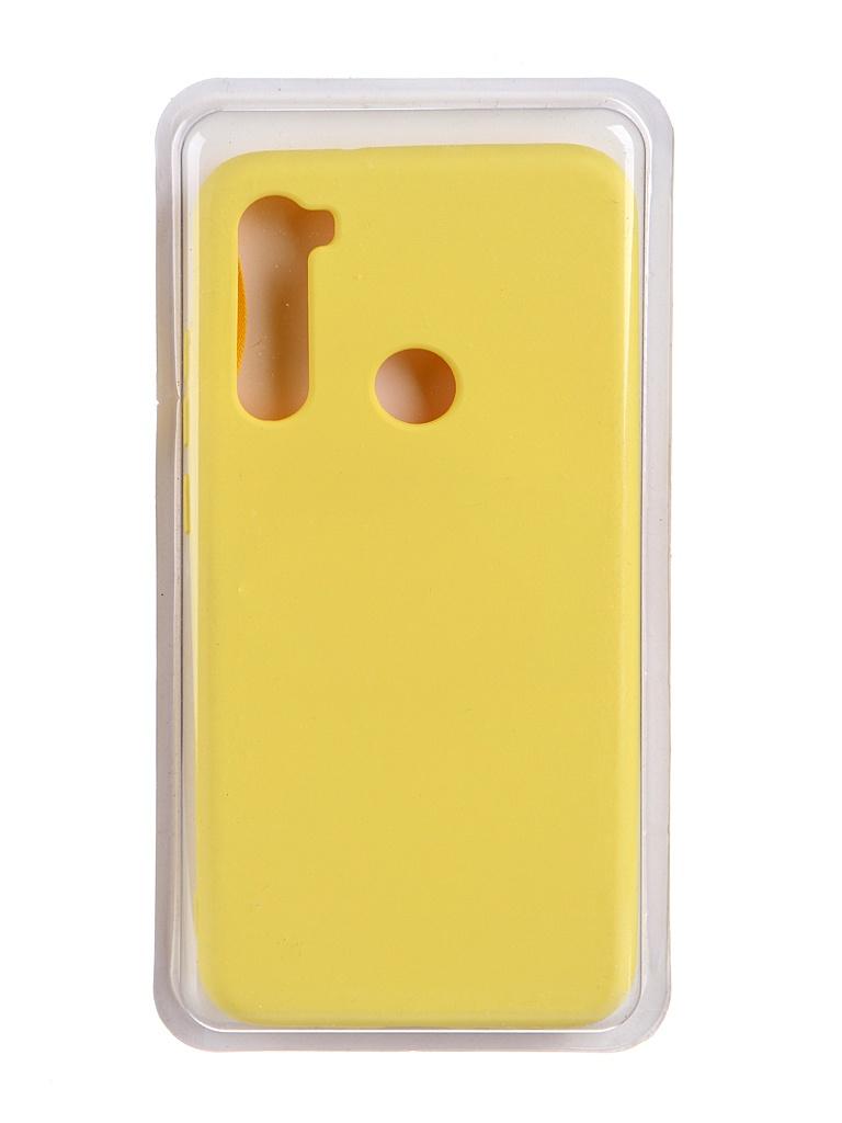 Чехол Innovation для Xiaomi Redmi Note 8 Soft Inside Yellow 19227