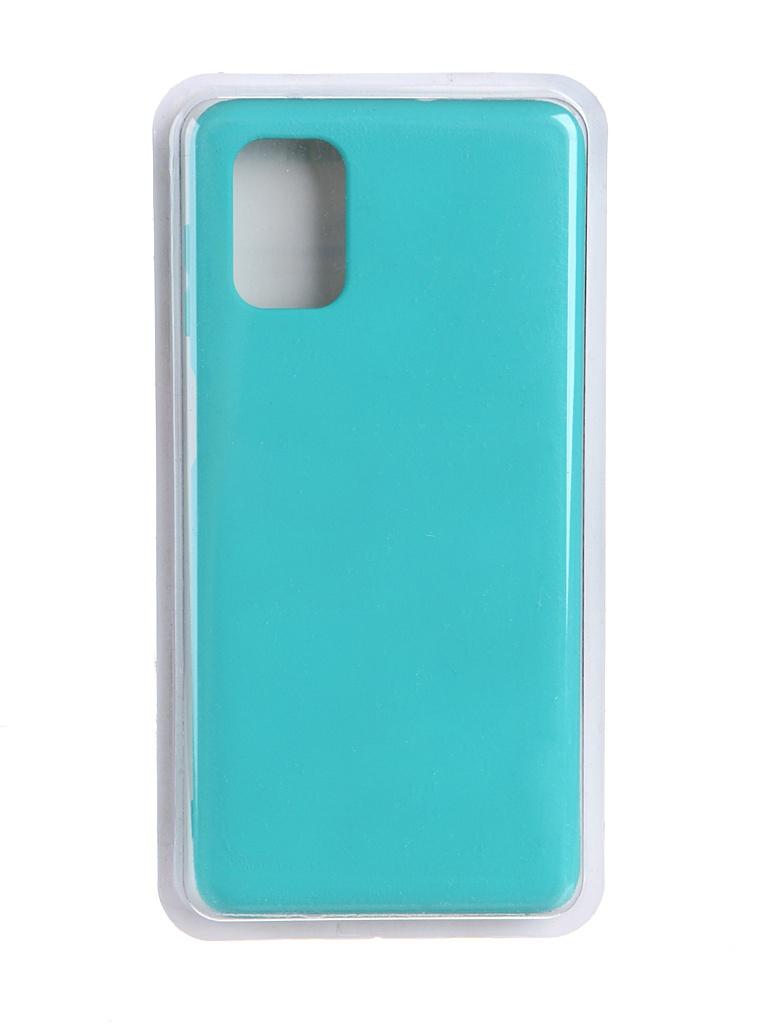 Чехол Innovation для Samsung Galaxy M51 Soft Inside Turquoise 19082