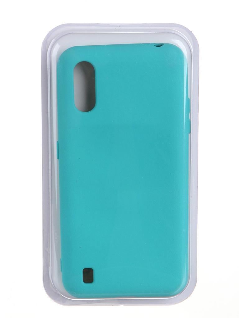 Чехол Innovation для Samsung Galaxy M01 Soft Inside Turquoise 19087