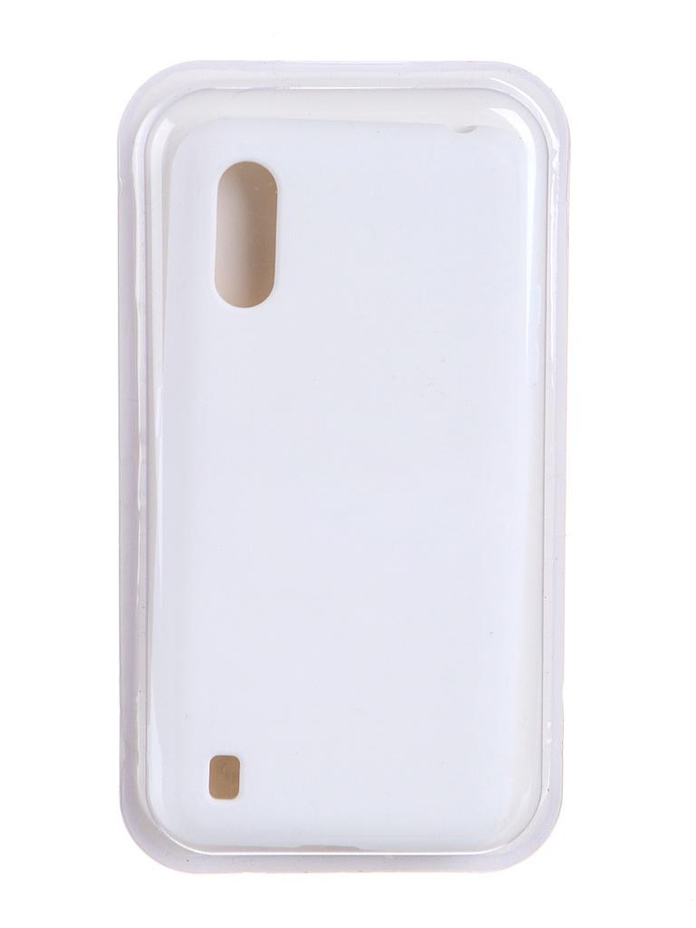 Чехол Innovation для Samsung Galaxy M01 Soft Inside White 19088