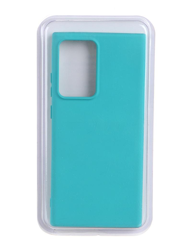 Чехол Innovation для Samsung Galaxy Note 20 Ultra Soft Inside Turquoise 19092