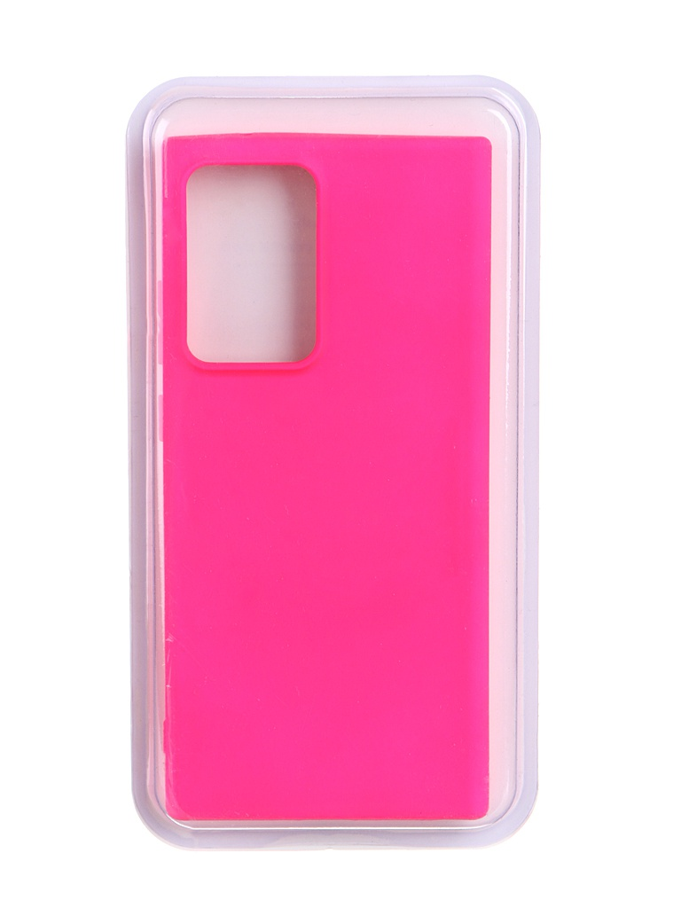 Чехол Innovation для Samsung Galaxy Note 20 Ultra Soft Inside Light Pink 19094