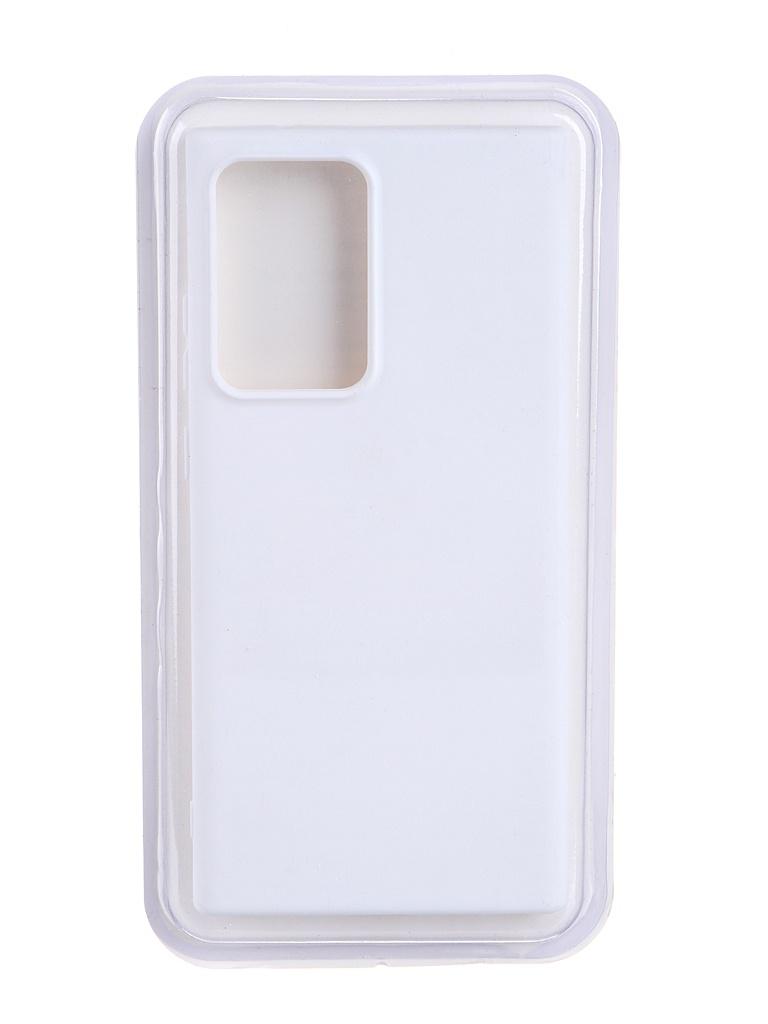 Чехол Innovation для Samsung Galaxy Note 20 Ultra Soft Inside White 19093