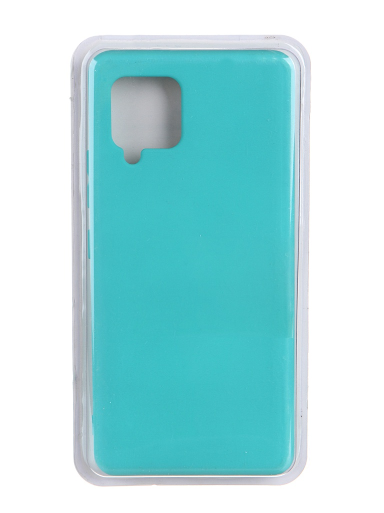 Чехол Innovation для Samsung Galaxy A42 Soft Inside Turquoise 19097