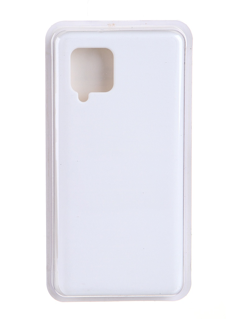 Чехол Innovation для Samsung Galaxy A42 Soft Inside White 19099