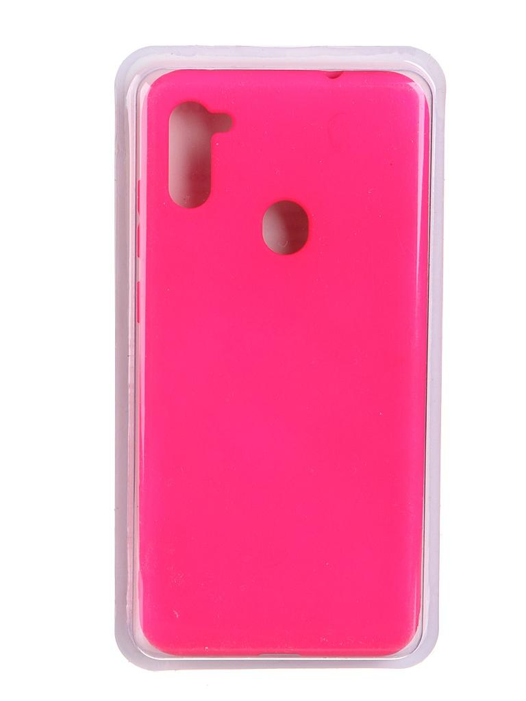 Чехол Innovation для Samsung Galaxy A11 Soft Inside Light Pink 19126