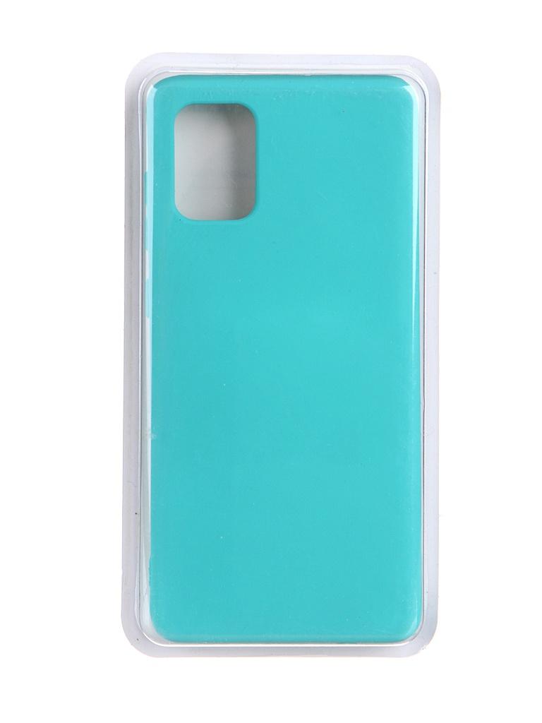 Чехол Innovation для Samsung Galaxy A71 Soft Inside Turquoise 19102