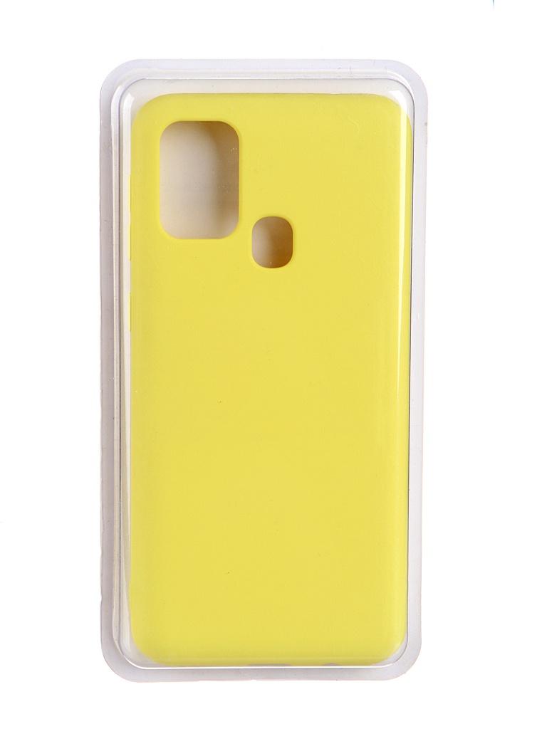Чехол Innovation для Samsung Galaxy M31 Soft Inside Yellow 19123