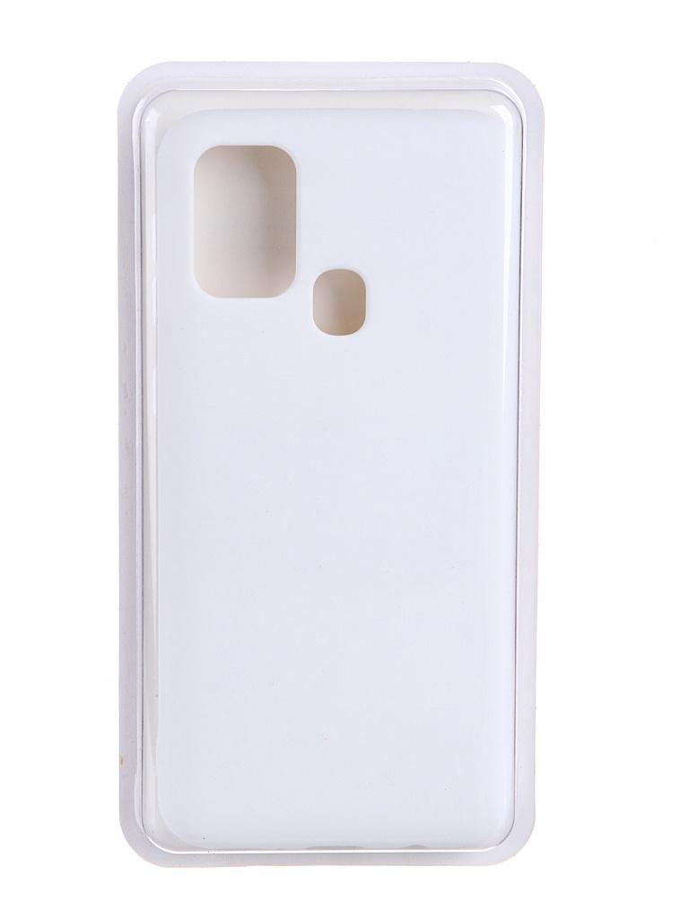 Чехол Innovation для Samsung Galaxy M31 Soft Inside White 19121