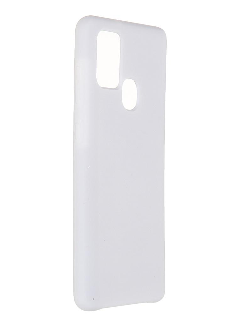 Чехол Innovation для Samsung Galaxy A21S Soft Inside White 19116